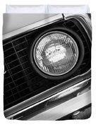 1969 Ford Mustang Boss 429 Grill Emblem Duvet Cover by Jill Reger