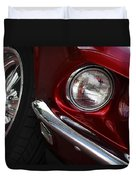 1969 Ford Mustang Mach 1 Front Duvet Cover by Jill Reger