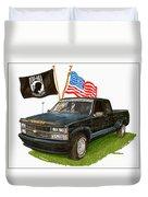 1988 Chevrolet M I A Tribute Duvet Cover by Jack Pumphrey