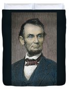 Abraham Lincoln Duvet Cover by American School