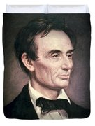 Abraham Lincoln Duvet Cover by George Peter Alexander Healy