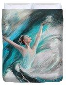 Ballerina  Duvet Cover by Corporate Art Task Force