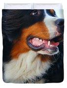 Beautiful dog portrait Duvet Cover by Michal Bednarek