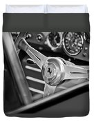 Ferrari Steering Wheel Duvet Cover by Jill Reger