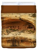 Horse Collar Ruins Duvet Cover by Jeff Swan