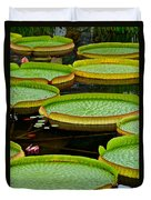 Lilly Pads Duvet Cover by Frozen in Time Fine Art Photography