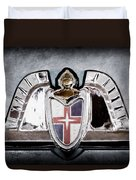Lincoln Emblem Duvet Cover by Jill Reger