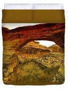 Natural Bridge Duvet Cover by Jeff Swan
