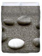 Pebbles Duvet Cover by Frank Tschakert