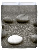 Pebbles Duvet Cover by Frank Tschakert