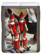 Pinocchio Duvet Cover by Craig B
