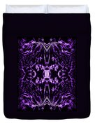 Purple Series 2 Duvet Cover by J D Owen