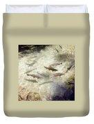 Rainbow Trout Duvet Cover by Les Cunliffe