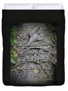 Roots Duvet Cover by Brian Wallace