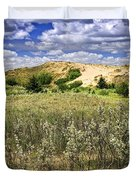 Sand dunes in Manitoba Duvet Cover by Elena Elisseeva