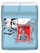 Smile Duvet Cover by Edward Fielding