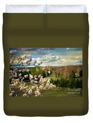 Spring Time Duvet Cover by Robert Bales