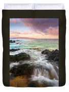 Sunrise Surge Duvet Cover by Mike  Dawson