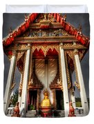 Thai Temple Duvet Cover by Adrian Evans