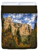 The Hills Of Sedona  Duvet Cover by Saija  Lehtonen