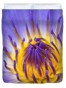 The Lotus Flower Duvet Cover by Sharon Mau