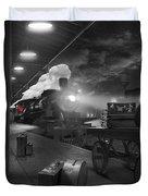 The Station Duvet Cover by Mike McGlothlen