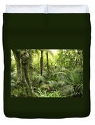 Tropical Jungle Duvet Cover by Les Cunliffe