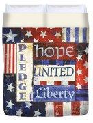 Usa Pride 1 Duvet Cover by Debbie DeWitt