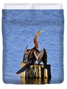 Wet Wings Duvet Cover by Al Powell Photography USA