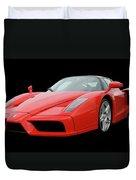 2002 Enzo Ferrari 400 Duvet Cover by Jack Pumphrey