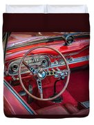 1963 Ford Falcon Sprint Convertible  Duvet Cover by Rich Franco