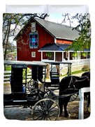 Amish Country Duvet Cover by Frozen in Time Fine Art Photography