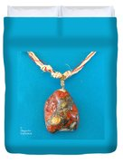 Aphrodite Genetyllis Necklace Duvet Cover by Augusta Stylianou