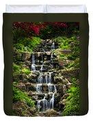 Cascading Waterfall Duvet Cover by Elena Elisseeva