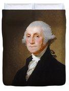 George Washington Duvet Cover by Gilbert Stuart