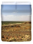 Homolovi Ruins State Park Arizona Duvet Cover by Christine Till