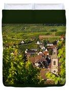 Riquewihr Alsace Duvet Cover by Brian Jannsen