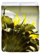 Sunflower Duvet Cover by Les Cunliffe