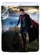 Superman Duvet Cover by Marvin Blaine