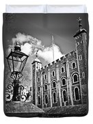 Tower Of London Duvet Cover by Elena Elisseeva