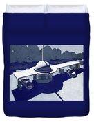 Roadside Of Tomorrow Duvet Cover by Robert Poole