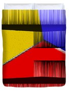 3D Abstract 1 Duvet Cover by Angelina Vick
