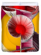 3D Abstract 18 Duvet Cover by Angelina Vick