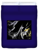 Abstract 35 Duvet Cover by J D Owen