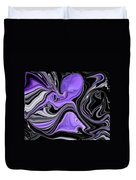 Abstract 57 Duvet Cover by J D Owen