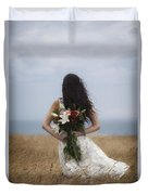 Bouquet Of Flowers Duvet Cover by Joana Kruse