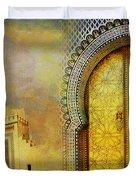 Medina Of Faz Duvet Cover by Catf