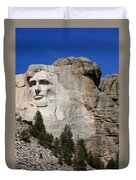 Mount Rushmore Duvet Cover by Frank Romeo