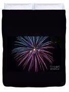 4th Of July 2014 Fireworks Bridgeport Hill Clarksburg Wv 1 Duvet Cover by Howard Tenke