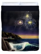 4th On The Shore Duvet Cover by Jack Malloch